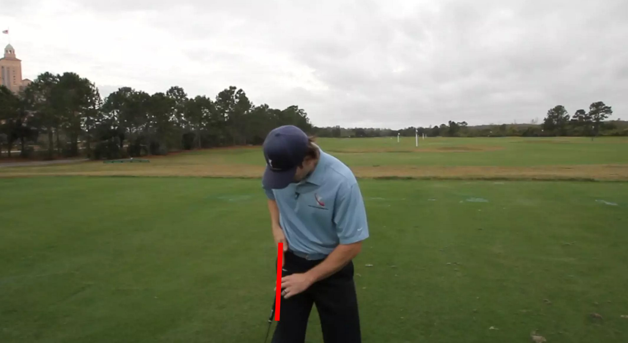 Weight Transfer in Golf and the Right Hip Line