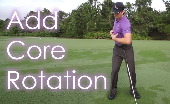 Intro to Core Rotation in Golf Swing | RotarySwing com