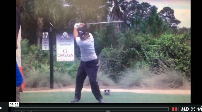 Patrick Reed - Smooth Golf Swing Transition