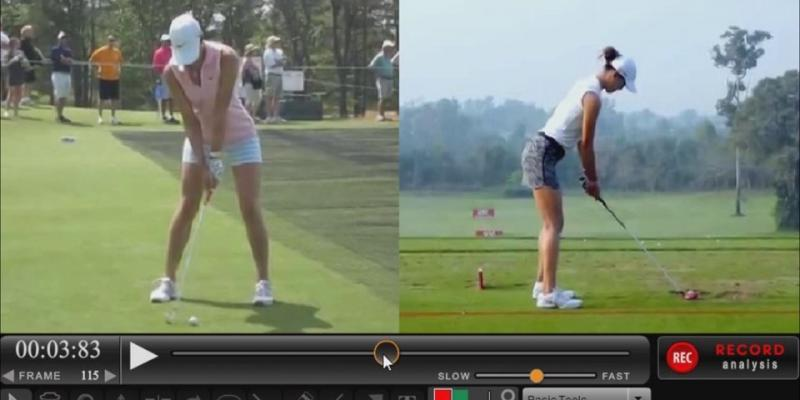 Michelle Wie Huge Shoulder Turn