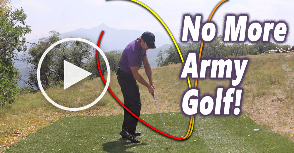 How to Fix the Two Way Miss in Golf | RotarySwing com