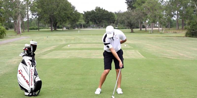 Impact Bag Drill for Penetrating Golf Ball Flight