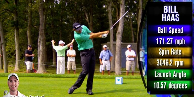 Bill Haas Golf Swing Analysis