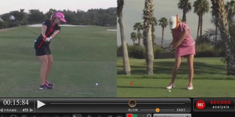 Paula Creamer Golf Swing Analysis