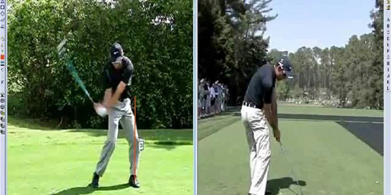 Charl Schwartzel Golf Swing Analysis