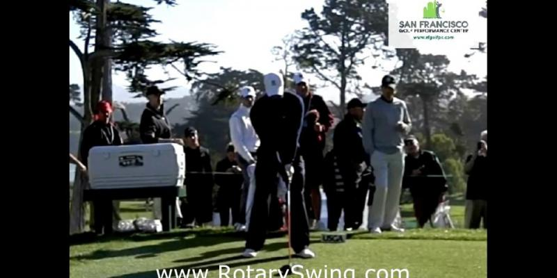 Tiger Woods' Swing Lag