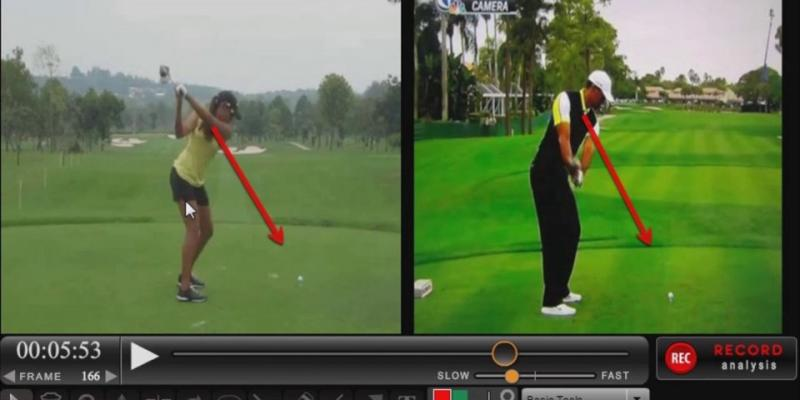 Cheyenne Woods Golf Swing Analysis