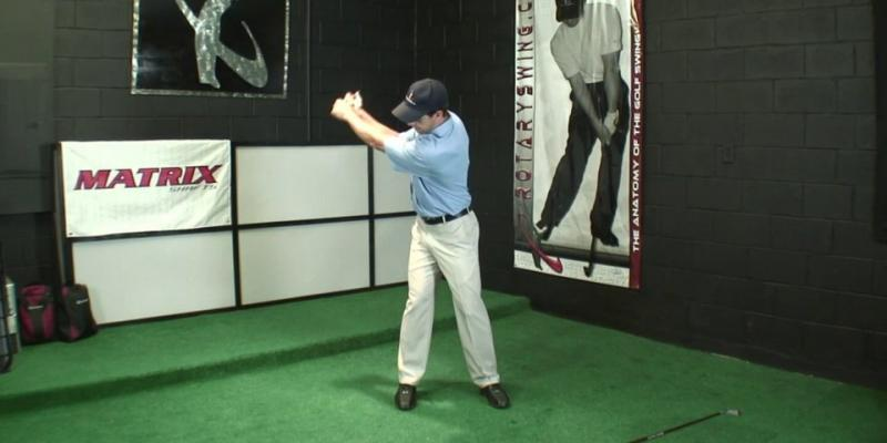 Make a Better Golf Backswing by Using the Right Arm Correctly