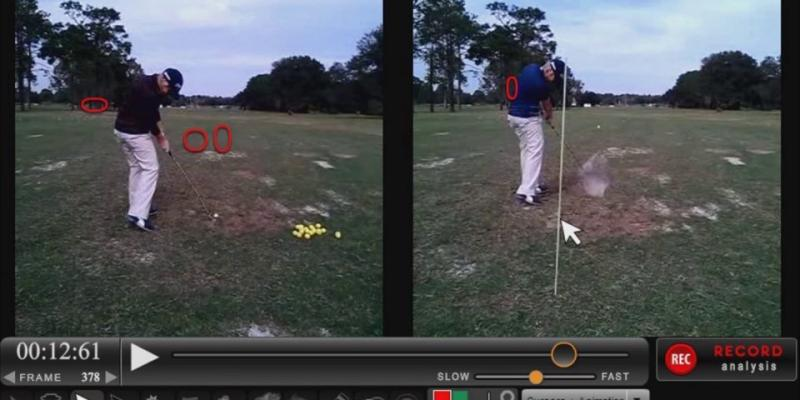 Lisa Cornwell Golf Swing Analysis