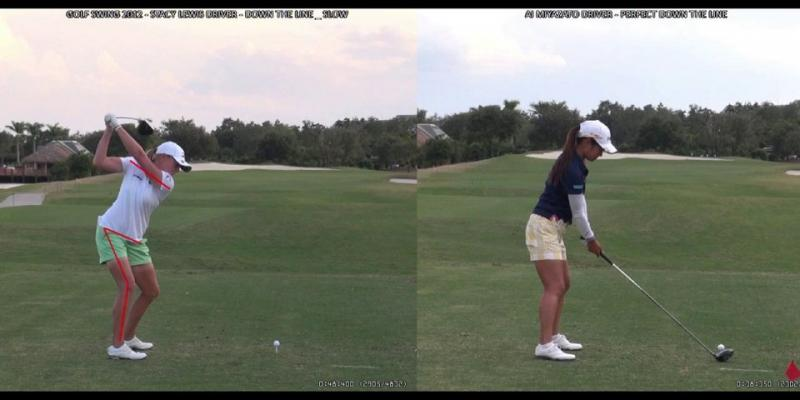 Ai Miyazato - Stacy Lewis Golf Swing Analysis