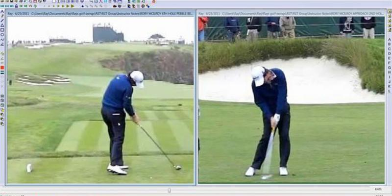 McIlroy vs. Schwartzel Swing Analysis