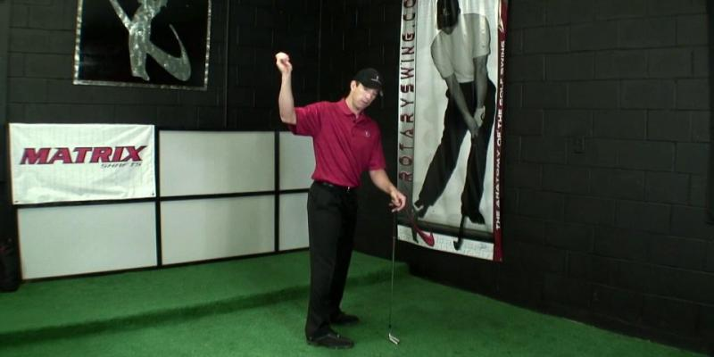 Proper Weight Shift in the Golf Downswing