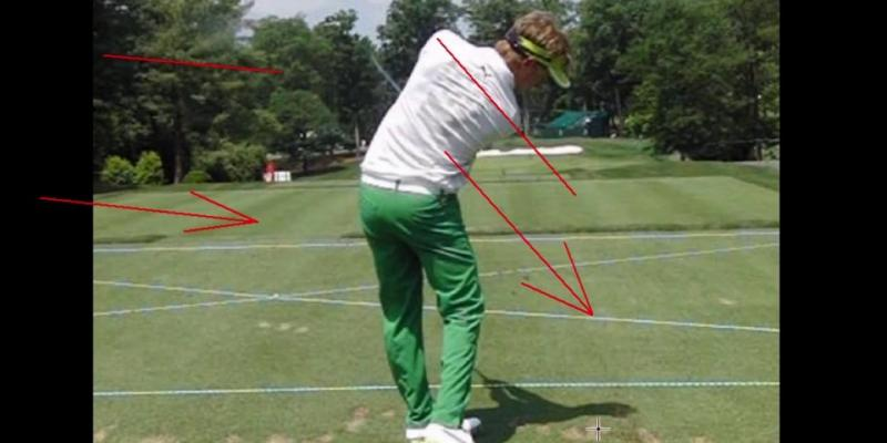 Jonas Blixt Golf Swing Analysis