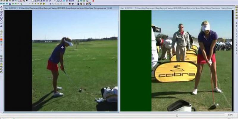 Lexi Thompson Golf Swing Analysis